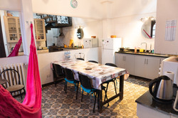 Luna Lila kitchen