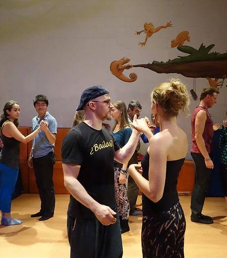 Mira Barakat teaching with Homer Ladas