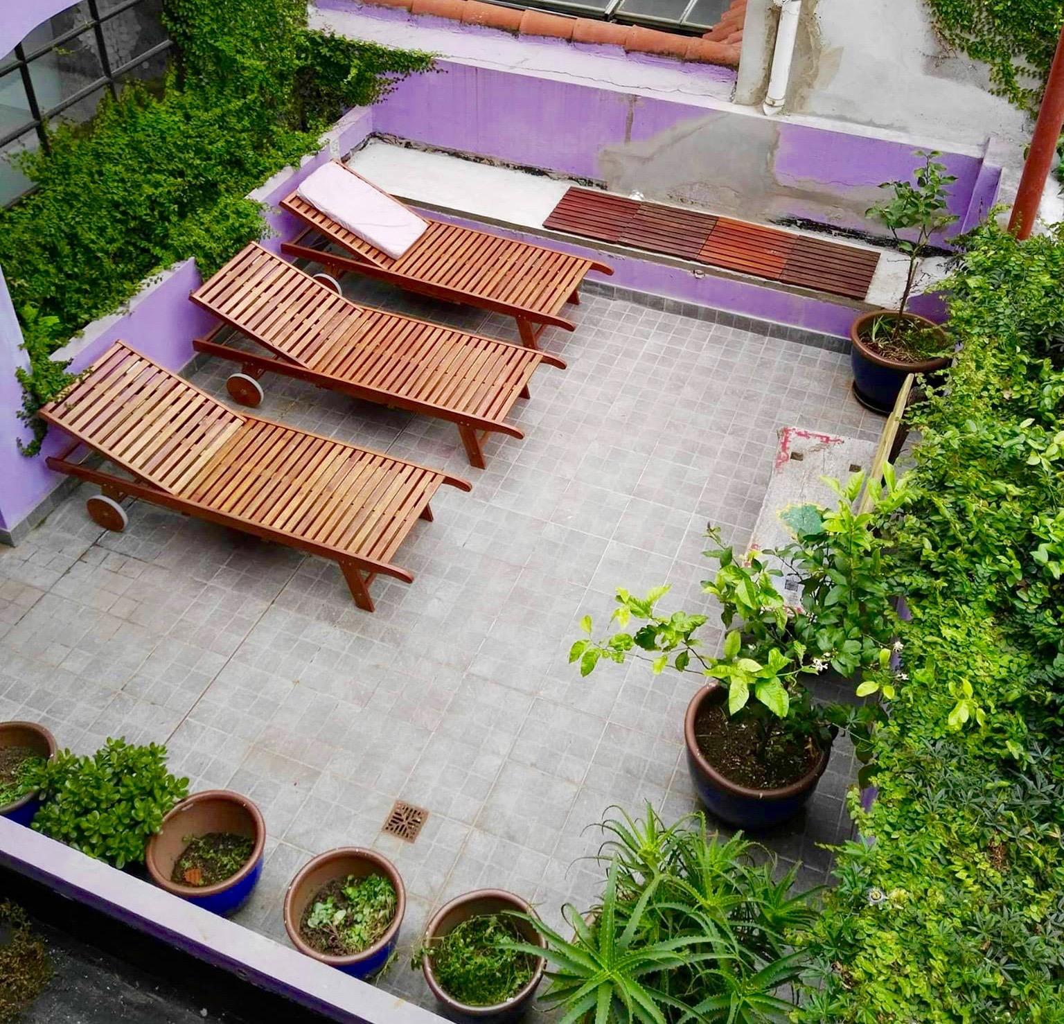Luna Lila first floor terrace
