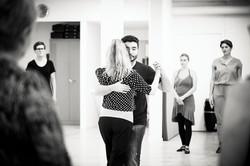Sebastian Arrua teaching tango