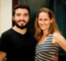 Sebastian Arrua & Mira Barakat, BA. Tango Evolution Hosts