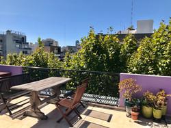Luna Lila rooftop terrace