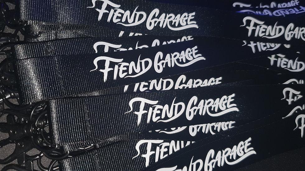 Fiend Garage Lanyard