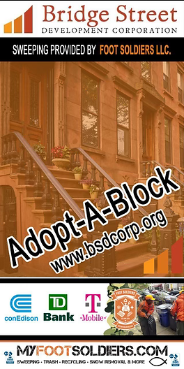 Foot Soldiers Adopt-a-Block sample banne