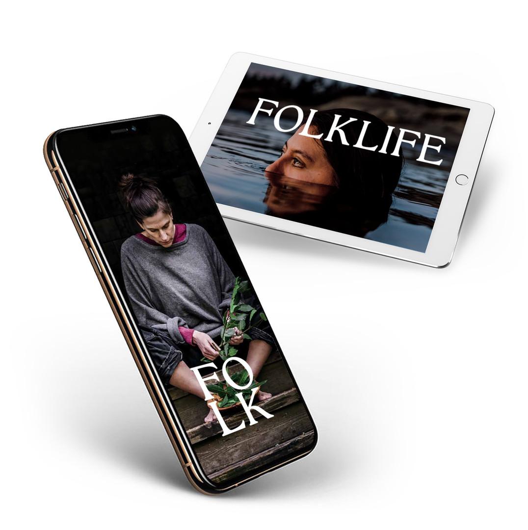FOLKLIFE 1st Year Digital Subscription
