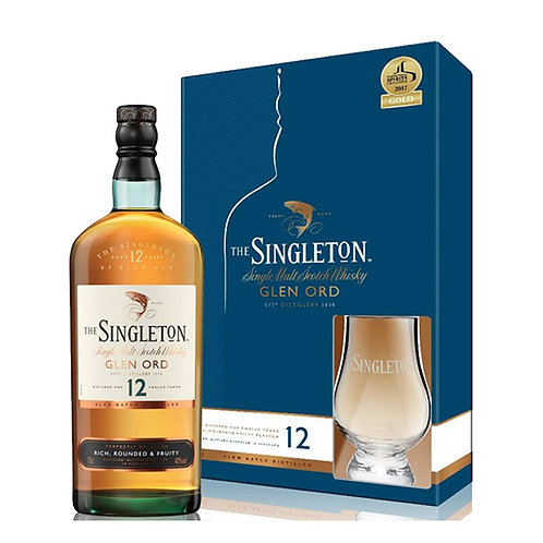 12 years Singleton Glencairn Gift Set