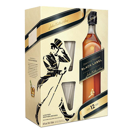 Johnnie Walker Black Label - Gift Set