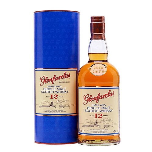 12 yr Glenfarclas Single Malt Whisky - 1 Litre
