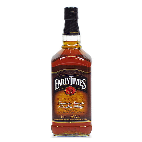 Early Times Bourbon Whisky, Kentucky 1 Litre