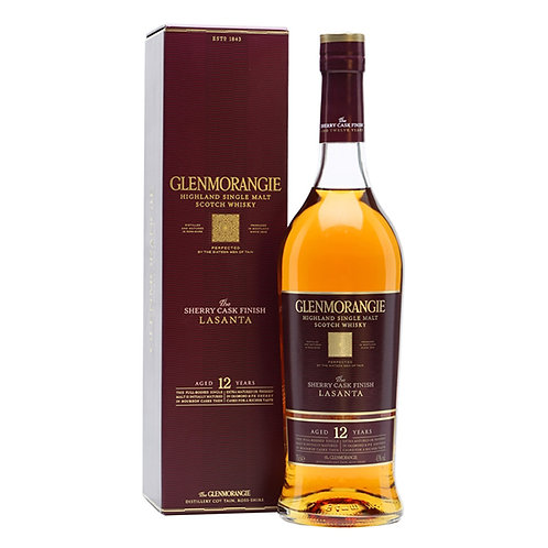 12 years Glenmorangie The Lasanta, Single Malt