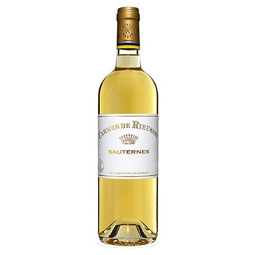 2012 Carmes de Rieussec, Sauternes