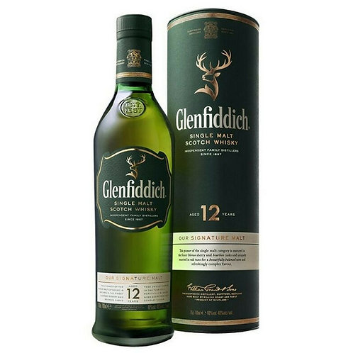 12 Years Glenfiddich Single Malt - 700ml