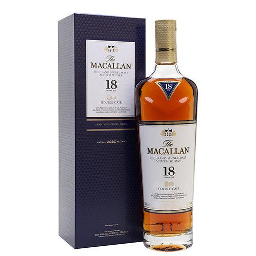 18 yr Macallan Double Cask  Single Malt