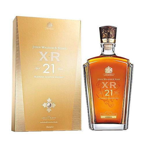 21 year Johnnie Walker-John Walker & Sons XR 21
