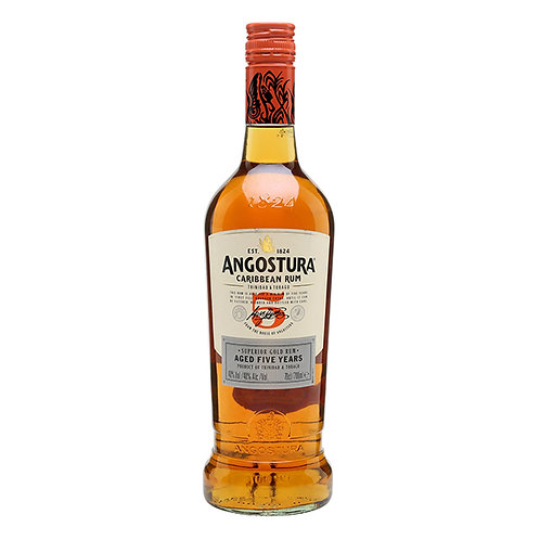 Angostura Gold 5 Year Old Rum, Trinidad and Tobago