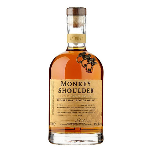 Monkey Shoulder - Batch 27, Bkended Malt Whisky