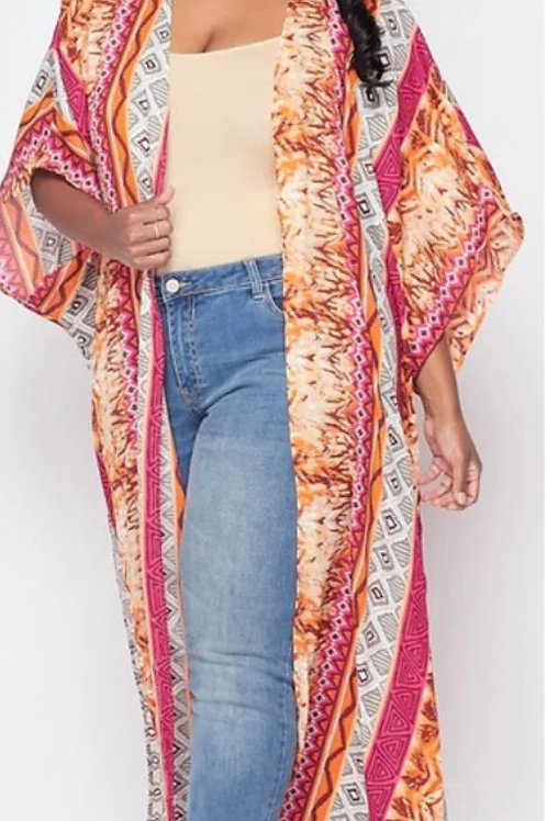 (Curvy) Summer Love Kimono