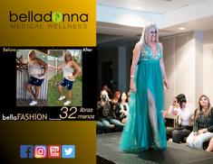 Algunos de los modelos del Bellafashion 2019