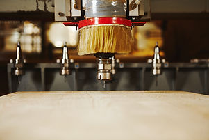 Cnc milling machine, woodwork industry.