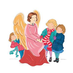 De engel die 'Ja' knikte  Je ziet ze steeds meer in de winkels: kerststalletjes, die je in je huis kunt zetten, desnoods onder de kerstboom. Meestal van hout, met daarin Jozef, Maria, een os, een ezel en natuurlijk in een kribbe het kindje Jezus. Heel lief en heel mooi. Vroeger was dat heel gewoon. Wij hadden er een op zolder staan, die dan tegen Kerst tevoorschijn werd gehaald en schoongemaakt. We zochten mos, dat mijn vader om het stalletje legde. Daarop kwamen de herders met hun schapen en later de drie wijzen uit het oosten. Onze ouders hadden iets bedacht: ieder kind had een eigen schaapje. Steeds als wij – mijn zusjes, mijn broertje en ik – lief waren geweest, mocht ons schaapje een klein stukje naar voren, net zo lang tot alle schaapjes vlakbij de kribbe stonden. Er was altijd één schaapje dat wat later dan de rest kwam…ik zeg niet van wie. Vlakbij ons huis was een hele grote katholieke kerk. Daar kwam altijd een super-kerststal te staan! Prachtige grote beelden en een levensecht kindje in een kribje met vers stro. Je kon daar gratis komen kijken. Vóór de stal stond een stenen engeltje, waar je geld aan kon geven. Je legde een muntstuk op het handje, dat rolde door een gleufje en dan knikte het engeltje: 'Ja'. Dat was een leuk gezicht, dus veel mensen en kinderen deden dat. Mijn vader zei: als je er een knop op legt, schudt het 'nee'.  Op een dag hebben we het uitgeprobeerd, toen er niemand keek. Ik legde de knoop erop. Die rolde door het gleufje en het engeltje deed: 'Ja!' We schrokken er van! We voelden ons nu slechter dan wanneer het 'nee' had geschud. We hebben het nooit meer gedaan.  Elly Zuiderveld