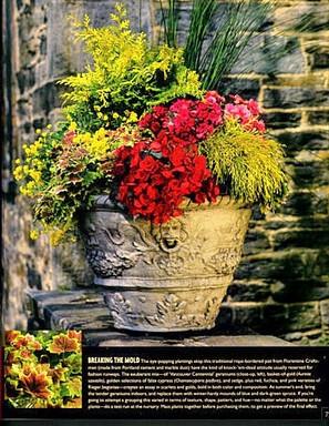 Garden Design City Container