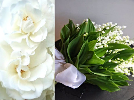 Lily of the Valley Garden Roses Wedding Design NYC Event Design NYC