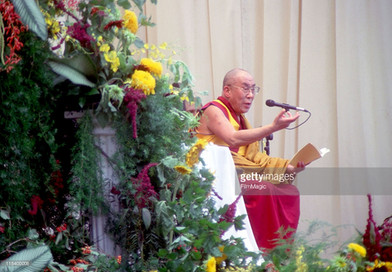 HH DalaiLama Central Park Stage