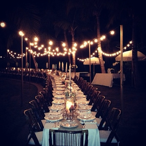 Dinner Party at the Beach