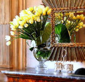 French Tulips for the Entrance