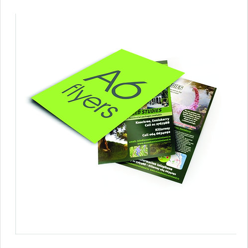 A6 Flyers and Leaflets
