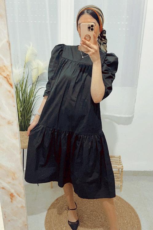 שמלת אור שרוול נפוח