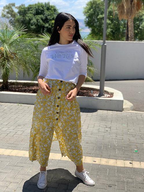 חצאית מקסי flowers
