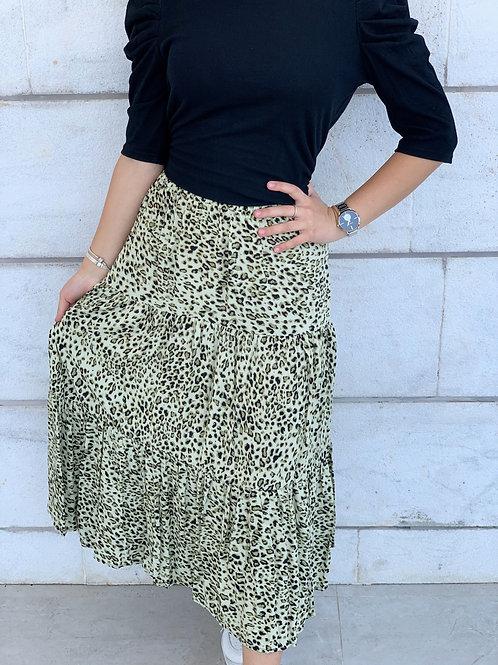 חצאית הולי מנומרת