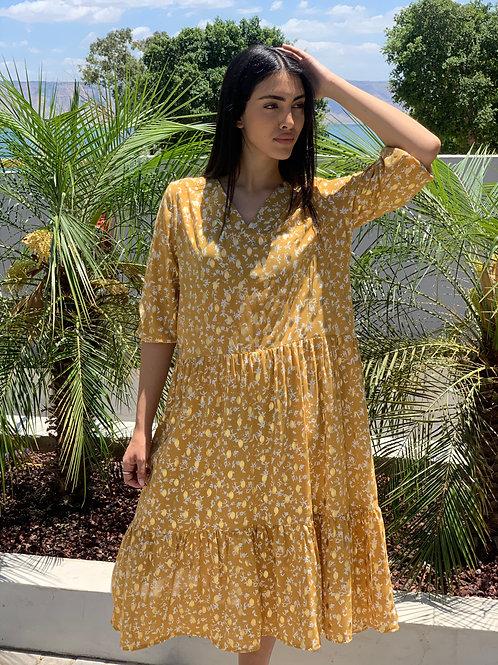 שמלת שולדרס בשילוב מלמלה