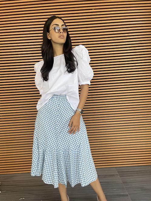 חצאית משבצות אנאל