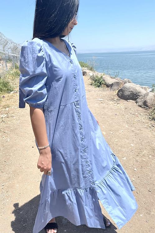 שמלת לינדי סיומת מלמלה