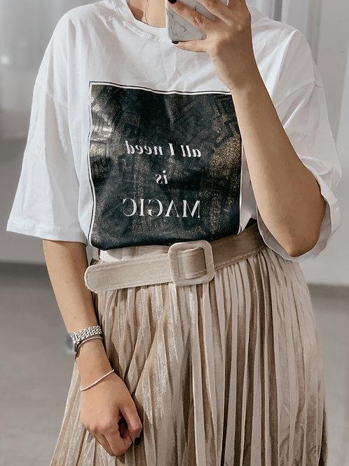 T-shirt  אוברסייז מג'יק