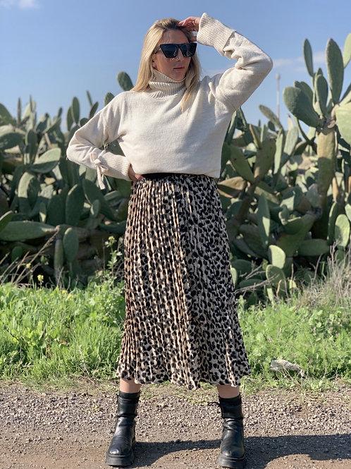 חצאית טוי מנומר
