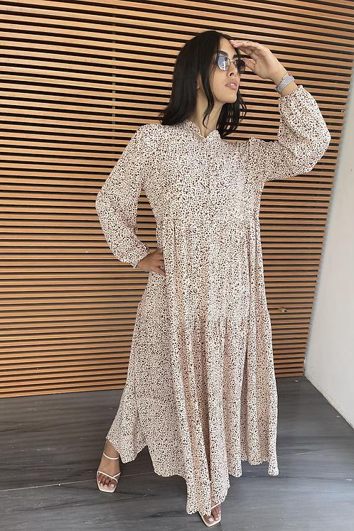 שמלת מקסי לין