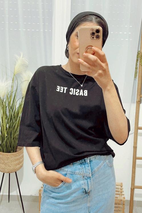 T-shirt BASIC אוברסייז