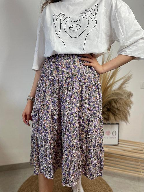 חצאית summer פרחים
