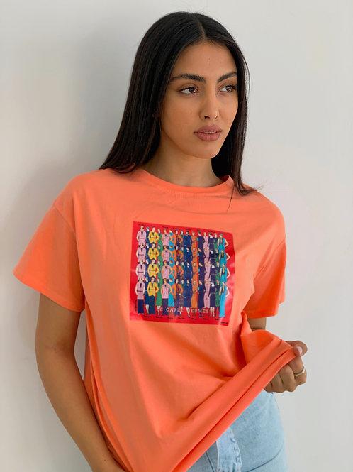 t-shirt מנדלה