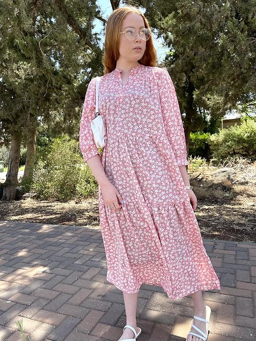 שמלת היגי פרחים