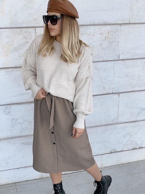 חצאית משבצות