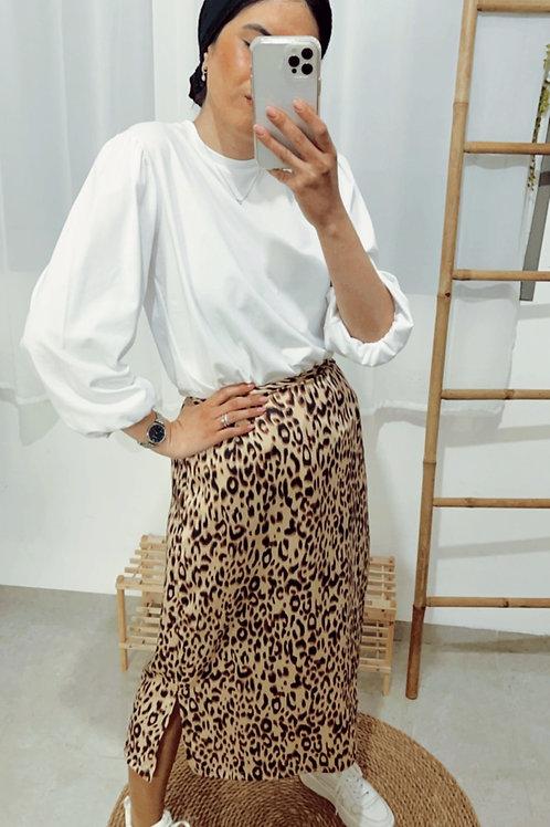 חצאית יוניק מנומר