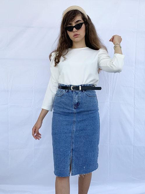 חצאית ג'ינס אידן