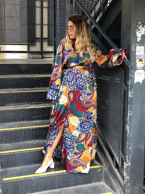 שמלת מקסי מדריד