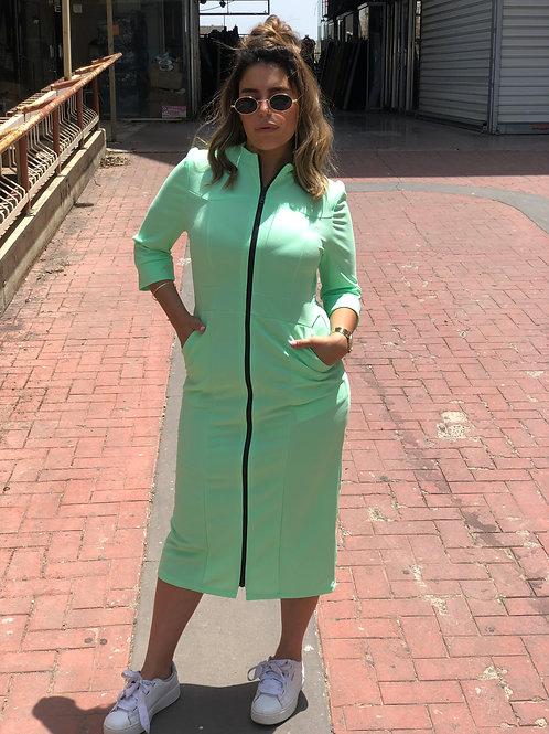 שמלת רוכסן מרקר