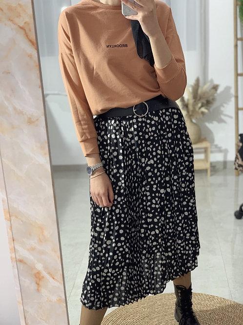 חצאית נקודות לונה