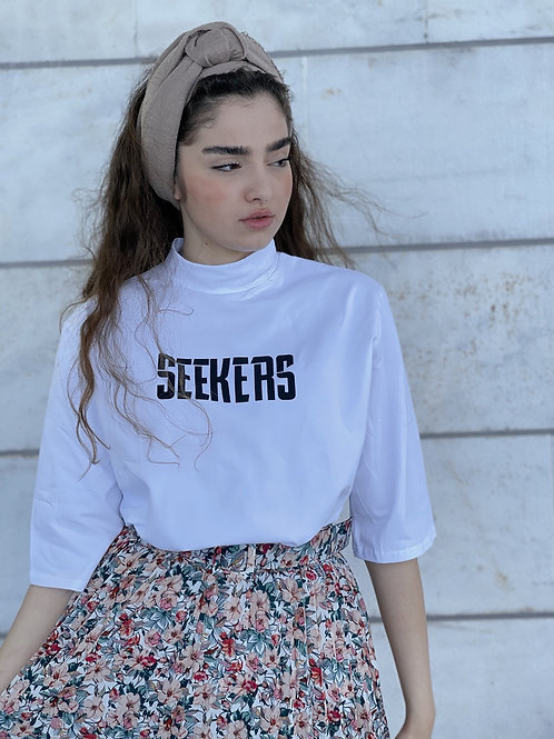 T-shirt seekers אוברסייז